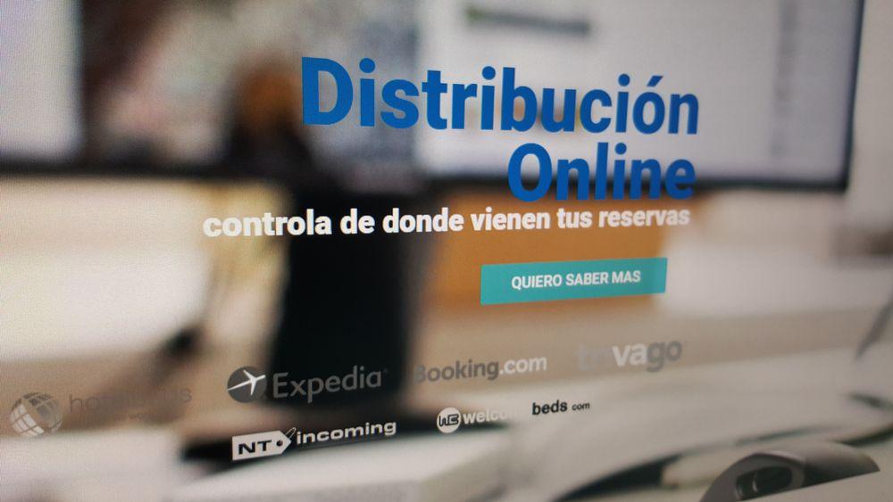 Online distribution hotel